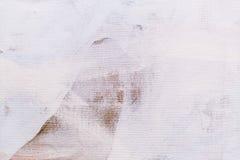 Gemalter Segeltuchdetail-Beschaffenheitshintergrund Stockfoto