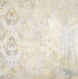 Gemalter strukturierter Wandhintergrund der Kunst grunge Stockbilder
