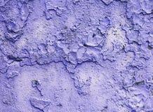 Gemaltes blaues Metall mit Elementen des Rosts Lizenzfreie Stockfotografie