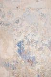 Gemaltes blaues Metall mit Elementen des Rosts Lizenzfreie Stockbilder