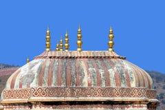 Gemaltes Dach, Indien Lizenzfreies Stockfoto