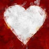 Gemaltes Herz Lizenzfreies Stockbild