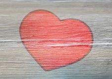 Gemaltes Herz Stockfoto