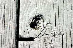 Gemaltes Knoten-Loch Lizenzfreies Stockbild