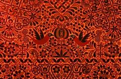Gemaltes natürliches Muster Stockfoto