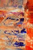 Gemaltes Segeltuch als Hintergrund. Stockbilder