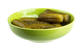 Gemarineerde komkommer Royalty-vrije Stock Fotografie