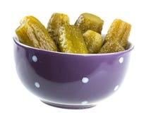 Gemarineerde komkommer Royalty-vrije Stock Afbeelding