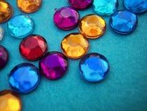 Gemas azules Imagen de archivo libre de regalías