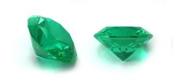 Gemas da esmeralda Fotos de Stock Royalty Free