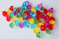 Gemas do arco-íris Fotos de Stock Royalty Free