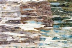 Gemas naturales mezcladas textura, fondo de la superficie de la piedra preciosa fotos de archivo libres de regalías