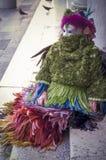 Gemaskeerde vrouw in Venetië Carnaval Royalty-vrije Stock Foto