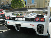 Free Gemballa MIG-U1 Unique Custom Car Back, Exhaust And Wing. Royalty Free Stock Image - 57323536