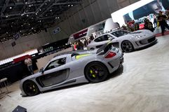 Gemballa-Trugbild GT Genf 2017 Stockbilder