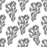 Gember naadloos patroon Stock Fotografie