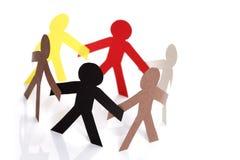 Gemeenschap en vriendschap Stock Foto's