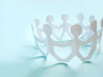 Gemeenschap van mensen Stock Afbeelding