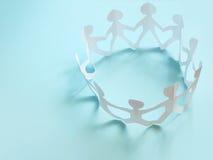 Gemeenschap van mensen Stock Foto