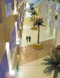 Gemeenschappelijk-ruimte met palm Royalty-vrije Stock Foto's
