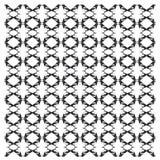 Gemeenschappelijke Ekster, Picapica, in herhaald patroon stock fotografie