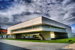 Gemeentelijke Bibliotheek in Viana do Castelo door Alvaro Siza Vieira Royalty-vrije Stock Afbeeldingen