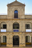 Gemeentelijke goedkope huizen in Sevilla, Spanje Stock Foto's