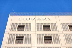 Gemeentelijke openbare bibliotheek (Stadtbibliothek) van Stuttgart Stock Afbeelding