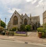 Gemeinde-Kirche des Heiligen Margaret Facade stockfoto