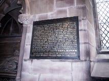 Gemeinde-Kirche St. Mary's in unterem Alderley Cheshire Lizenzfreies Stockbild