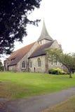 Gemeinde-Kirche von Str. Martin von Ausflügen Stockbild