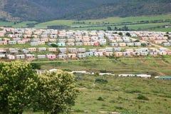 Gemeinde in Südafrika Stockfotografie