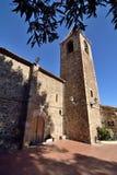 Gemeinde von dels Agudells St. Genis stockfotos