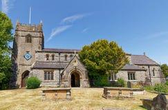 Gemeindekirche in Ingleton Nord-Yorkshire während des Festivals stockbilder