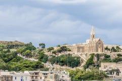Gemeindekirche in Mgarr, Malta Stockfotografie