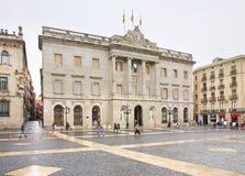 Gemeinderat von Barcelona in Barcelona spanien stockfoto