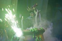 Gemeiner Hexe-Gussteil-Bann Expodes Stockbild