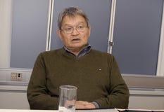 GEMEINSAME PRESSEKONFERENZ GREENLANDS ELECETIONS Lizenzfreie Stockfotografie
