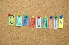 Gemeinschaft Lizenzfreies Stockbild