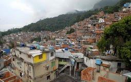 Gemeinschaft des Favela von Rocinha lizenzfreies stockbild