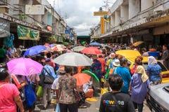 Gemeinschaft Khlong Toei Stockbild
