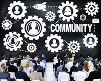 Gemeinschaftskultur-Gesellschafts-Bevölkerung Team Tradition Concept Stockbild