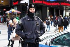 Gemeinschaftspolizeilich überwachen Stockbilder