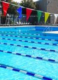 Gemeinschaftsswimmingpool Lizenzfreies Stockbild