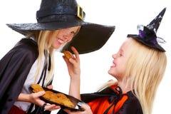 Gemelli di Halloween Immagini Stock