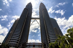 Gemelli di Petronas Immagini Stock