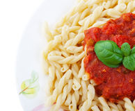 Gemelli Pasta Royalty Free Stock Images