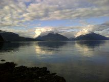 Gemelli - picchi di montagna immagini stock libere da diritti