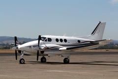 Gemelo de rey Air E30 de Beechcraft Fotografía de archivo libre de regalías