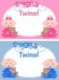 gemelos Foto de archivo